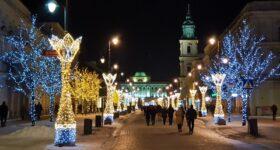 Świąteczne iluminacje i inne atrakcje