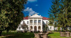 Pałac Zegrzyński - cisza i spokój jak w XIX wieku
