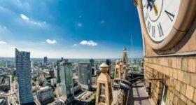 Panorama Warszawy znowu dostępna